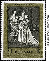 POLAND - CIRCA 1982 Countess