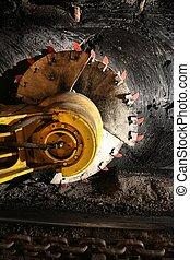 Longwall mining shearer