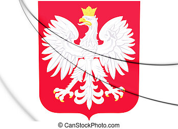 Poland coat of arms.