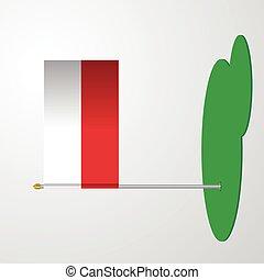 Poland Flag Pole
