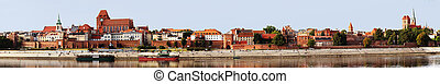 Torun, old city.