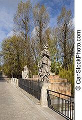 Statue of King John III Sobieski in Warsaw