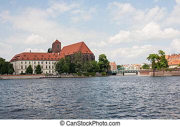 Poland Wroclaw city architecture