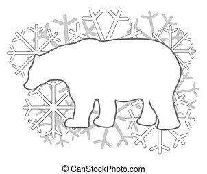 Polar bear - Creative design of polar bear