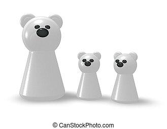 Polar Bear Clipart #218438 - Illustration by Cory Thoman
