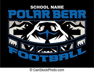 polar bear football