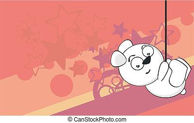 polar bear funny cartoonbackground4