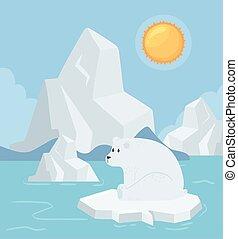 polar bear, global warming