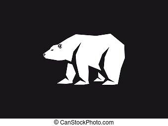 polar bear monogram