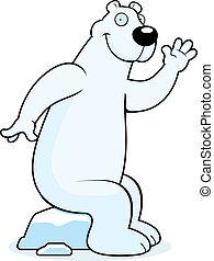 Polar Bear Sitting