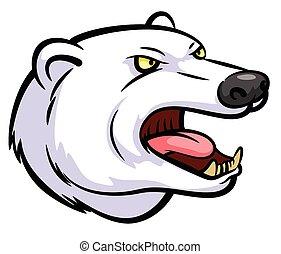 polarny miś, maskotka