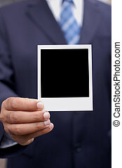 polaroid, 手