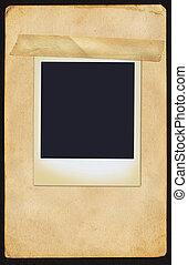 polaroid, en, página