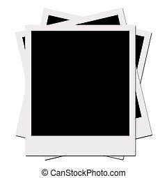 Polaroid Films (with clipping path) - Polaroid Films Series...