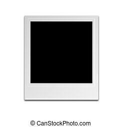 Polaroid isolated