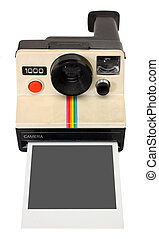 polaroid kamera, augenblick
