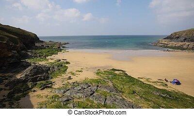 Poldhu beach The Lizard Cornwall - Poldhu beach south...
