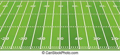 pole, amerykańska piłka nożna