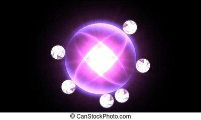 pole, elektron, tech, energia, moc