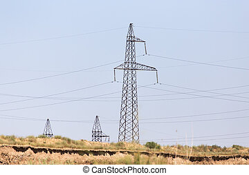 pole for electricity wires