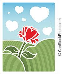 pole, miłość