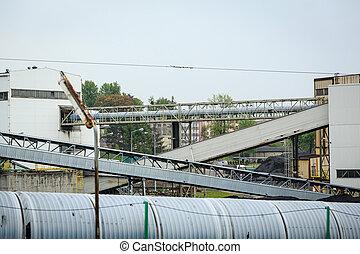 Polen, infrastruktur, gruvdrift,  silesia