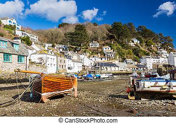 polerro, porto,  Cornwall