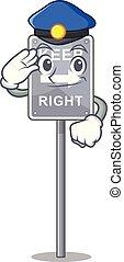 policía, forma, derecho, retener, mascota