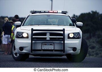 policía, intervención