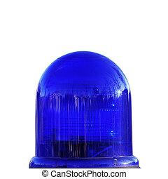 policía, luz