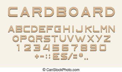 police, alphabet, latin, nombres, ponctuation