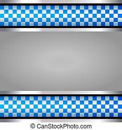 Police backdrop, vector design element 10 eps