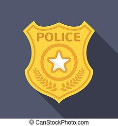 Fbi badge a gold fbi badge isolatrd over a white background - Fbi badge wallpaper ...