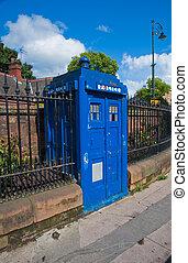 Police box - Glasgow police box