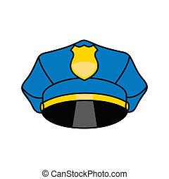 Police cap sign - Branding identity corporate logo isolated ...