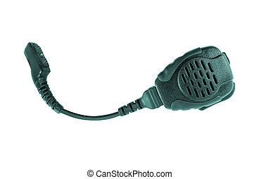 Police car radio transceiver