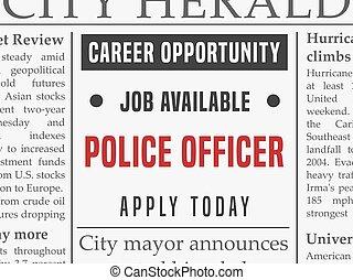 Police career