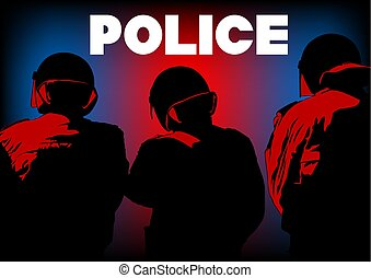 Police force people two
