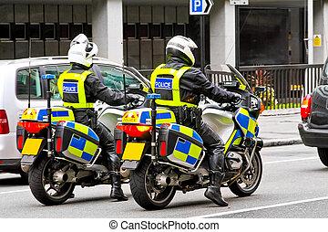 police, moto