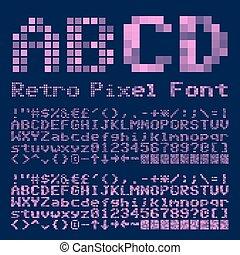 police, pixel