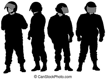 Police protective clothing