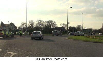 Police Road block