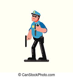 Police sketch officer