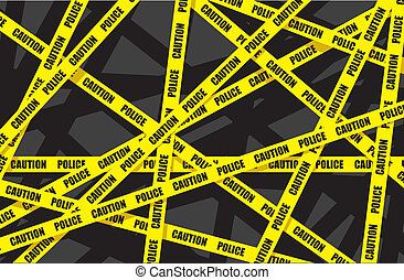 police tape background