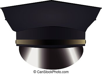 Police uniform cap