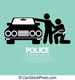 Police Vector Illustration.