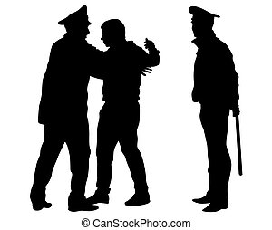 Police violence one - People of special police force on ...