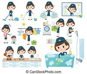 police Women Housekeeping