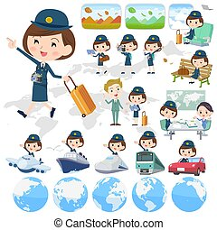 police Women travel