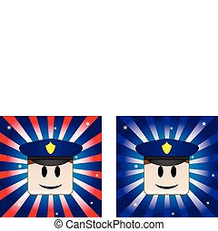 Policeman Background